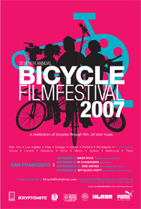 Bicycle Film Festival 2007