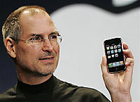 Steve and his iPhone
