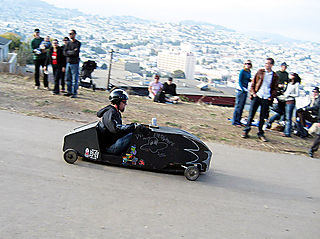 Illegal Soap Box Derby 2007 on Bernal Heights Hill
