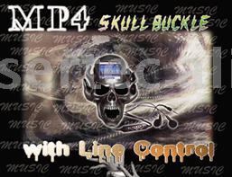MP4 Skull Buckle