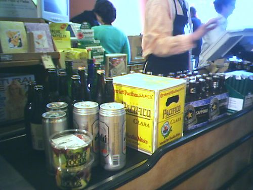 I'M IN UR CHECKOUT BUYIN UR BEER