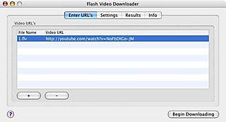 Flash Video Downloader