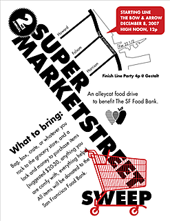 2nd Annual Supermarket Street Sweep