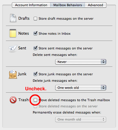 Apple Mail Settings 1